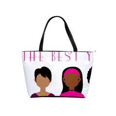 Black Girls Be The Best You Shoulder Handbags by kenique