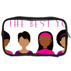 Black Girls Be The Best You Toiletries Bags 2 Side by kenique