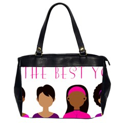 Black Girls Be The Best You Office Handbags (2 Sides)  by kenique