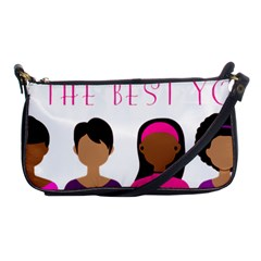Black Girls Be The Best You Shoulder Clutch Bags by kenique