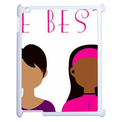 Black Girls Be The Best You Apple Ipad 2 Case (white) by kenique