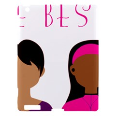Black Girls Be The Best You Apple Ipad 3/4 Hardshell Case by kenique