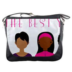 Black Girls Be The Best You Messenger Bags by kenique