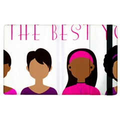Black Girls Be The Best You Apple Ipad 2 Flip Case by kenique