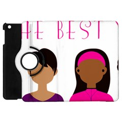 Black Girls Be The Best You Apple Ipad Mini Flip 360 Case by kenique
