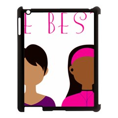 Black Girls Be The Best You Apple Ipad 3/4 Case (black) by kenique