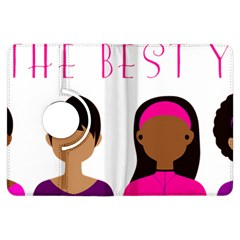 Black Girls Be The Best You Kindle Fire Hdx Flip 360 Case by kenique