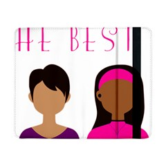 Black Girls Be The Best You Samsung Galaxy Tab Pro 8 4  Flip Case by kenique