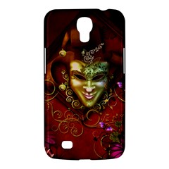 Wonderful Venetian Mask With Floral Elements Samsung Galaxy Mega 6 3  I9200 Hardshell Case by FantasyWorld7