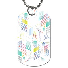 Layer Capital City Building Dog Tag (two Sides) by Mariart