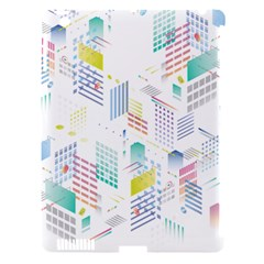Layer Capital City Building Apple Ipad 3/4 Hardshell Case (compatible With Smart Cover) by Mariart