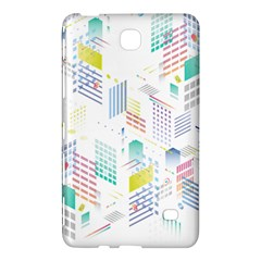 Layer Capital City Building Samsung Galaxy Tab 4 (7 ) Hardshell Case  by Mariart