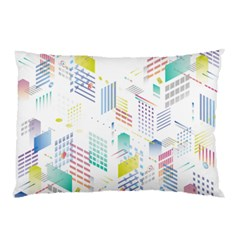 Layer Capital City Building Pillow Case