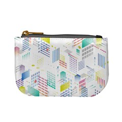 Layer Capital City Building Mini Coin Purses