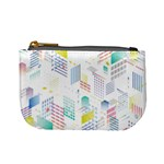 Layer Capital City Building Mini Coin Purses Front