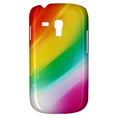 Red Yellow White Pink Green Blue Rainbow Color Mix Galaxy S3 Mini by Mariart