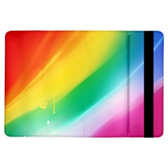 Red Yellow White Pink Green Blue Rainbow Color Mix Ipad Air Flip