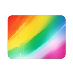 Red Yellow White Pink Green Blue Rainbow Color Mix Double Sided Flano Blanket (mini)  by Mariart