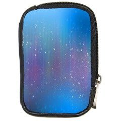 Rain Star Planet Galaxy Blue Sky Purple Blue Compact Camera Cases by Mariart