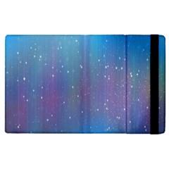Rain Star Planet Galaxy Blue Sky Purple Blue Apple Ipad Pro 12 9   Flip Case by Mariart