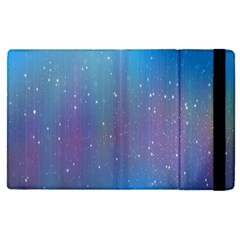 Rain Star Planet Galaxy Blue Sky Purple Blue Apple Ipad Pro 9 7   Flip Case by Mariart