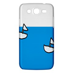 Ship Sea Beack Sun Blue Sky White Water Samsung Galaxy Mega 5 8 I9152 Hardshell Case  by Mariart