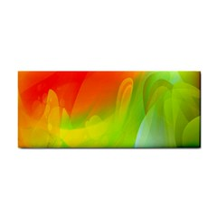 Red Yellow Green Blue Rainbow Color Mix Cosmetic Storage Cases by Mariart