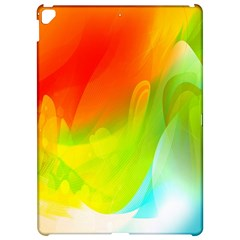 Red Yellow Green Blue Rainbow Color Mix Apple Ipad Pro 12 9   Hardshell Case by Mariart