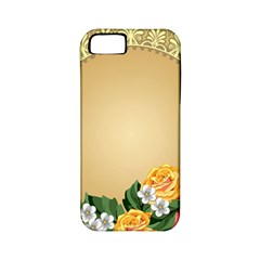 Rose Sunflower Star Floral Flower Frame Green Leaf Apple Iphone 5 Classic Hardshell Case (pc+silicone) by Mariart