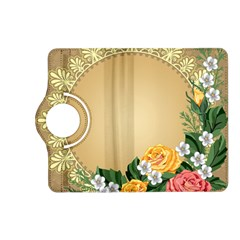 Rose Sunflower Star Floral Flower Frame Green Leaf Kindle Fire Hd (2013) Flip 360 Case by Mariart