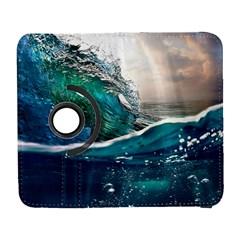 Sea Wave Waves Beach Water Blue Sky Galaxy S3 (flip/folio) by Mariart
