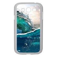 Sea Wave Waves Beach Water Blue Sky Samsung Galaxy Grand Duos I9082 Case (white) by Mariart