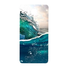 Sea Wave Waves Beach Water Blue Sky Samsung Galaxy Alpha Hardshell Back Case by Mariart