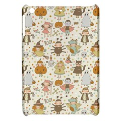 Sinister Helloween Cat Pumkin Bat Ghost Polka Dots Vampire Bone Skull Apple Ipad Mini Hardshell Case by Mariart