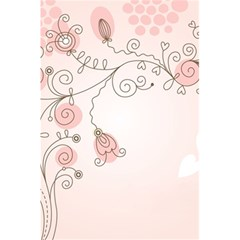 Simple Flower Polka Dots Pink 5 5  X 8 5  Notebooks by Mariart
