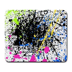 Spot Paint Pink Black Green Yellow Blue Sexy Large Mousepads by Mariart