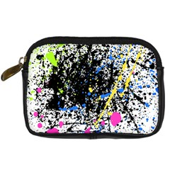 Spot Paint Pink Black Green Yellow Blue Sexy Digital Camera Cases by Mariart