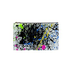 Spot Paint Pink Black Green Yellow Blue Sexy Cosmetic Bag (small)  by Mariart