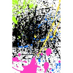 Spot Paint Pink Black Green Yellow Blue Sexy 5 5  X 8 5  Notebooks by Mariart