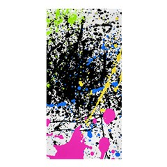 Spot Paint Pink Black Green Yellow Blue Sexy Shower Curtain 36  X 72  (stall)  by Mariart
