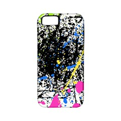 Spot Paint Pink Black Green Yellow Blue Sexy Apple Iphone 5 Classic Hardshell Case (pc+silicone) by Mariart