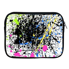 Spot Paint Pink Black Green Yellow Blue Sexy Apple Ipad 2/3/4 Zipper Cases by Mariart