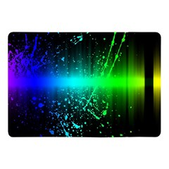 Space Galaxy Green Blue Black Spot Light Neon Rainbow Apple Ipad Pro 10 5   Flip Case by Mariart