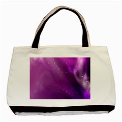 Space Star Planet Galaxy Purple Basic Tote Bag (two Sides) by Mariart