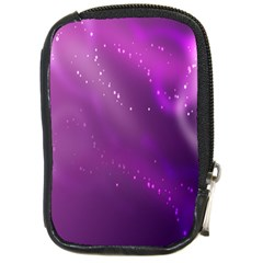 Space Star Planet Galaxy Purple Compact Camera Cases by Mariart