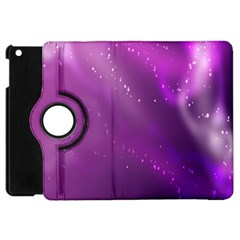 Space Star Planet Galaxy Purple Apple Ipad Mini Flip 360 Case by Mariart