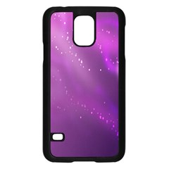 Space Star Planet Galaxy Purple Samsung Galaxy S5 Case (black) by Mariart