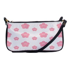 Star Pink Flower Polka Dots Shoulder Clutch Bags by Mariart