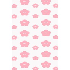 Star Pink Flower Polka Dots 5 5  X 8 5  Notebooks by Mariart