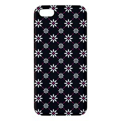 Sunflower Star Floral Purple Pink Apple Iphone 5 Premium Hardshell Case by Mariart